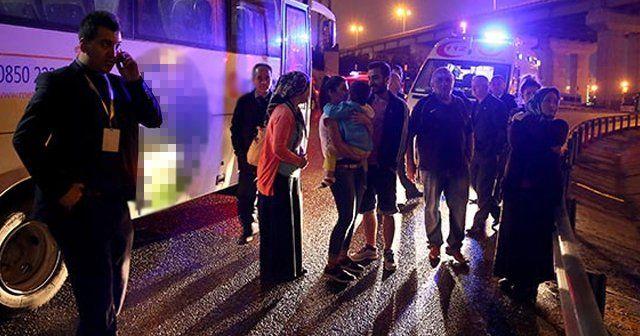 İstanbul'da trafik kazası, 1 ölü, 4 yaralı