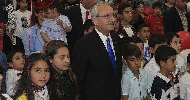 Kılıçdaroğlu, TBMM'de çocuklarla bir araya geldi
