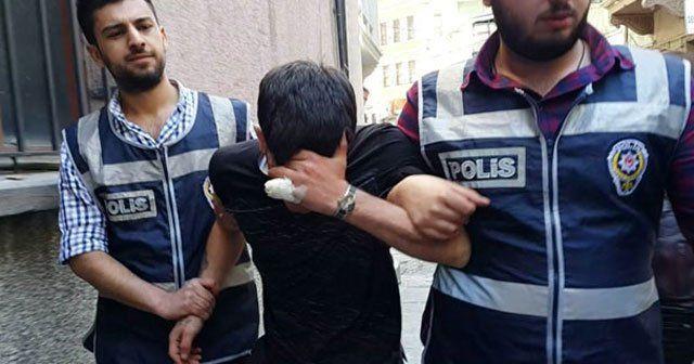 Kopan parmağını olay yerinde unutan hırsızlık zanlısı tutuklandı