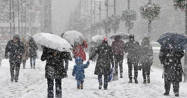 Meteoroloji'den çok kiritik uyarı! Kar geliyor