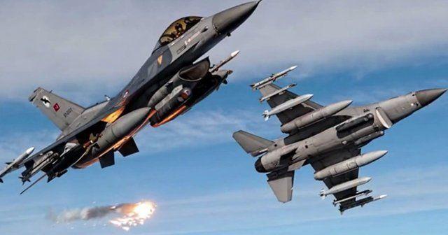 Silvan kırsalında PKK hedeflerine hava harekatı