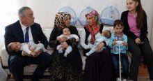 4 çocuklu aileye üçüz bebek sürprizi