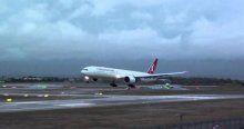 Atatürk Havalimanı'nda uçuşlara rüzgar engeli