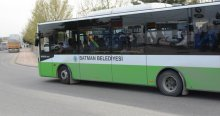 Belediye otobüsleri terörist cenazesinde