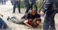 Eskişehir'de öğrenciler arasında arbede