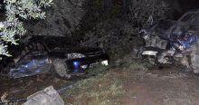 İznik'te otomobiller kafa kafaya çarpıştı, 3 ölü, 2 yaralı