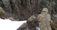Kars'ta çatışma, 5 terörist öldürüldü