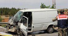Şanlıurfa'da feci kaza, 1 ölü, 5 yaralı
