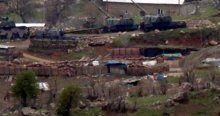 Suriye sınırında önlemler üst düzeyde