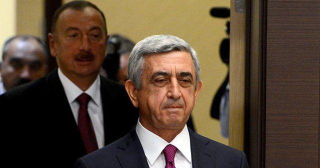 Aliyev Sarkisyan ile bir araya geliyor