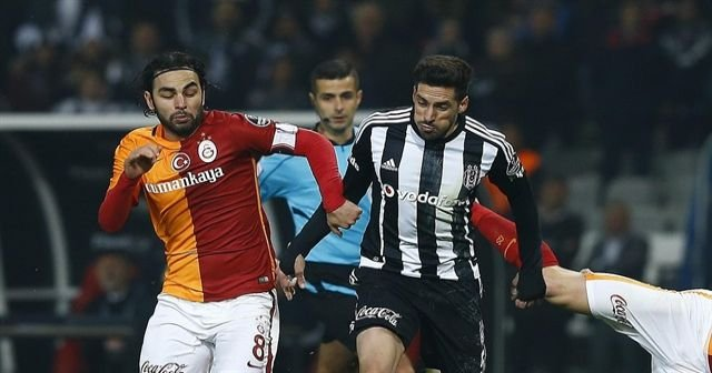 Galatasaray Beşiktaş derbi maçının GENİŞ ÖZETİ VE GOLLERİ