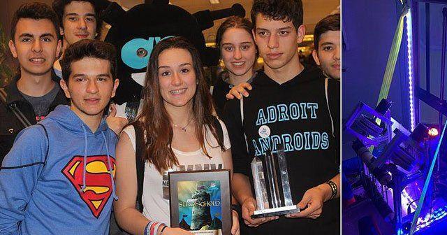 Türk öğrencilerden muhteşem başarı