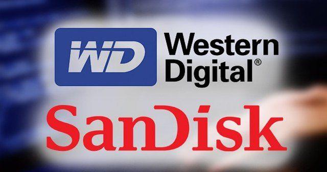 Western Digital Sandisk'i resmen satın aldı
