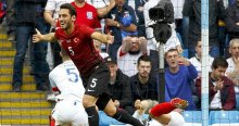 Çalhanoğlu, 'Çok gurur verici bir olay, bu gol ile tarihe geçtim'