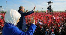 Erdoğan Fetih Şöleni'nde yüzbinlere hitap etti