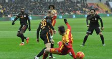 Galatasaray'ın son hafta konuğu Kayserispor
