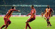 İşte Galatasaray'ın gol raporu
