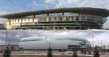 Sivas ve Eskişehir stadyumlarında sona yaklaşıldı