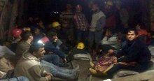 Yer altındaki madencilerin açlık grevi sona erdi