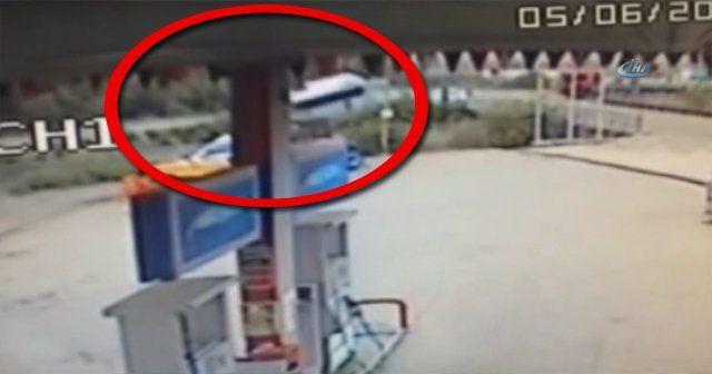 14 kişinin hayatını kaybettiği kaza kamerada