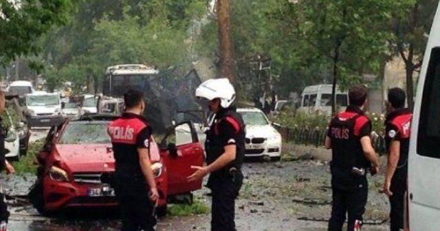 Beyazıt'taki bombalı saldırı sosyal medyada
