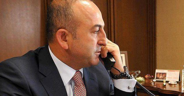 Dışişleri Bakanı Çavuşoğlu, Kerry ve Ayrault ile görüştü