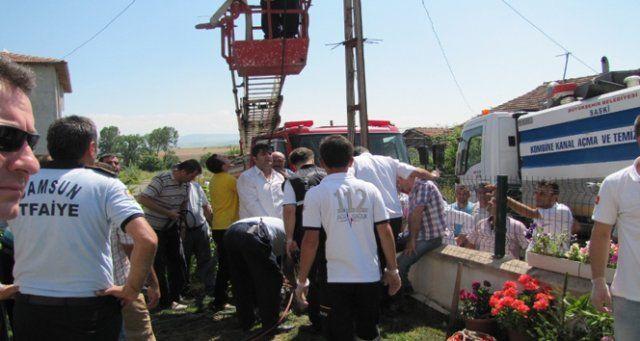 Metan gazı faciası: 2 ölü