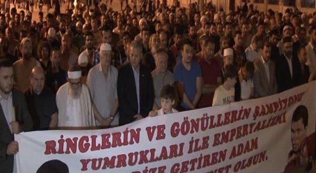 Muhammed Ali için gıyabi cenaze namazı