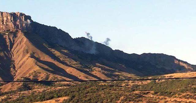 PKK, Derecik'te askeri üs bölgelerine saldırdı