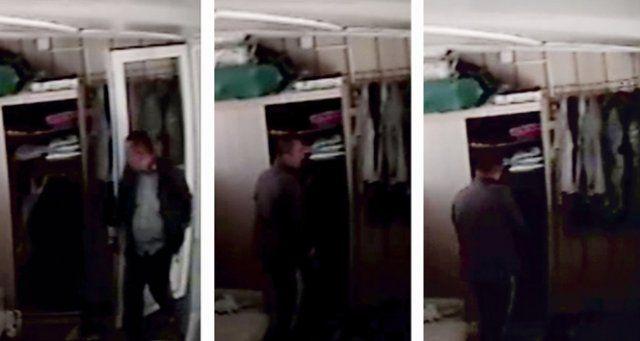 Seyyar satıcı kılığında hırsızlık kamerada