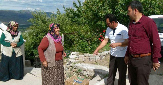 Ülkü Ocaklarından ihtiyaç sahibi ailelere gıda yardımı