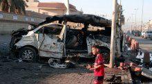 Bağdat'ta yine bombalar patladı, 10 ölü
