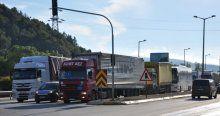 Bolu Dağı'nda trafik yoğunluğu yaşanıyor