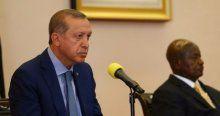 Erdoğan Uganda'da konuştu