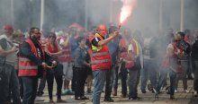 Fransa'daki grev 4 Avrupa ülkesini etkiliyor