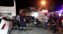 Kocaeli'de trafik kazası, 1 yaralı