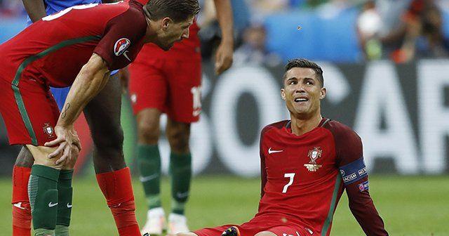 Ronaldo finalde hüngür hüngür ağladı