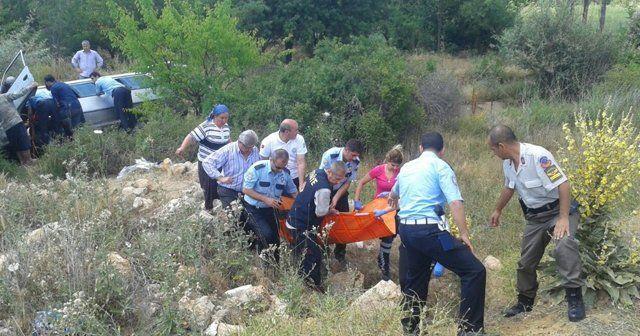 Suriyelileri taşıyan minibüs kaza yaptı: 17 yaralı