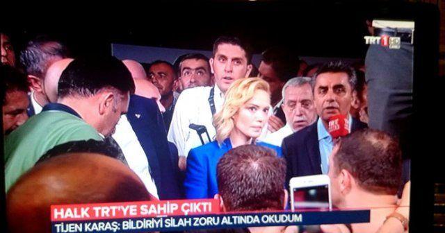 TRT spikeri o anları anlattı