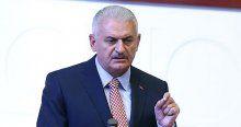 Başbakan Yıldırım vatandaşları Kızılay'a davet etti