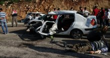 Bayram tatilinde 5 günün kaza bilançosu, 77 ölü, 221 yaralı