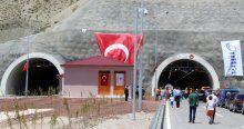 Bir tünel daha ulaşıma açıldı