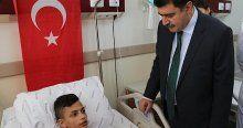 İstanbul Valisi Şahin yaralıları ziyaret etti