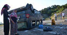 Kastamonu'da feci kaza, 7 yaralı