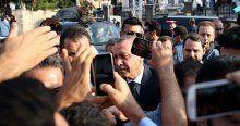 Kısıklı'daki vatandaşlardan Erdoğan'a sevgi gösterisi
