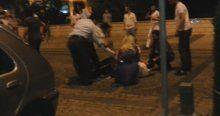 Polise saldıran iki kişi bacaklarından vuruldu