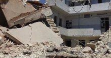 Suriye'de yerleşim yerlerine hava saldırıları