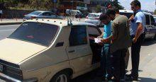 Üsküdar'da şüpheli otomobil alarmı