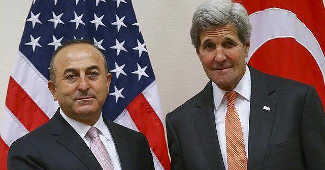 Çavuşoğlu ve Kerry arasında 'FETÖ' görüşmesi
