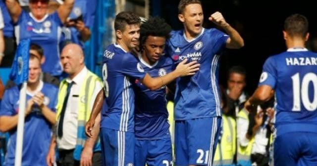 Chelsea'den Burnley'i sahadan sildi